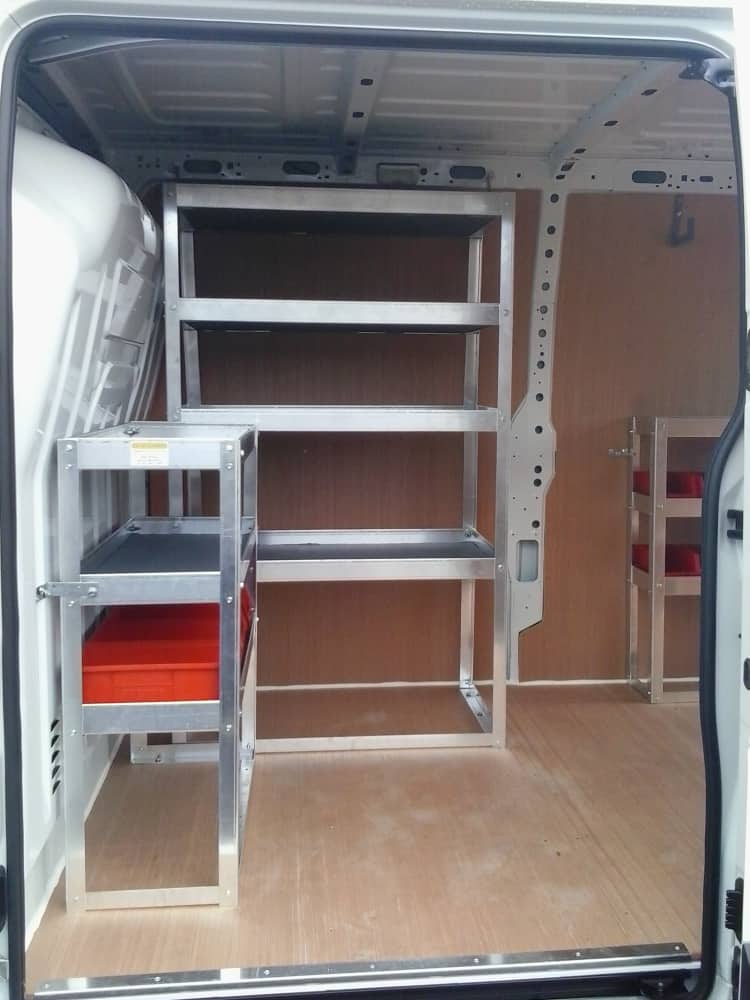 Recent Projects Van Racking Shelving Ply Lining
