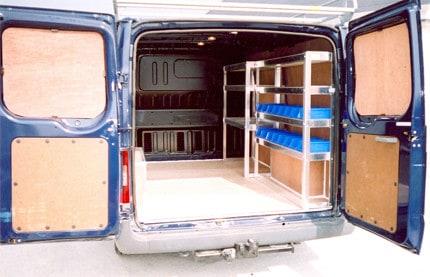Van Shelving & Ply Lining