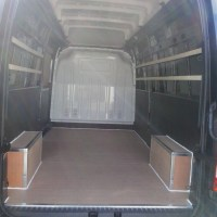 Van racking, ply lining, storage and shelving systems